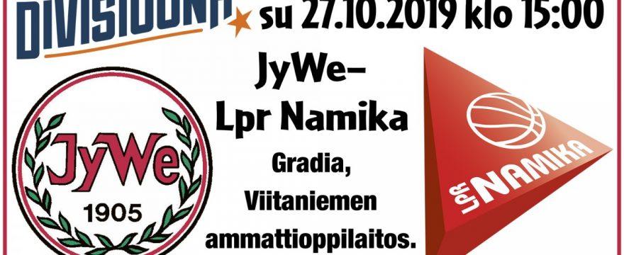 Avausvoiton metsästystä Weikkoja vastaan Jyväskylässä su 27.10.