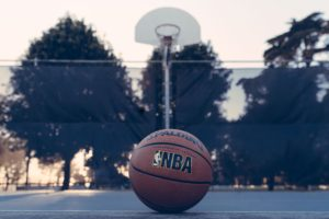 NBA Spalding ball