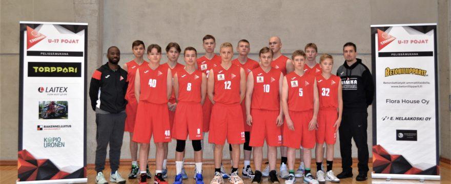 U16/U17 pojat valmiina taistoon pelikaudella 2020–2021